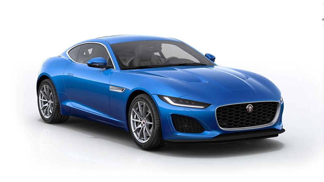 Jaguar  F-Type Velocity Blue Metallic Colour