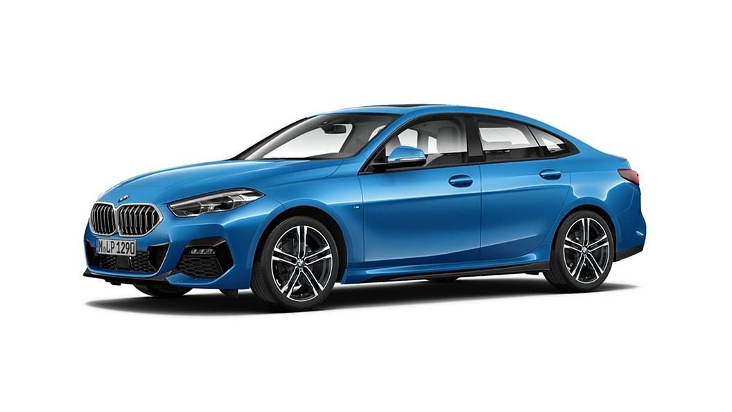 BMW  2 Series Gran Coupe Misano Blue Metallic Colour