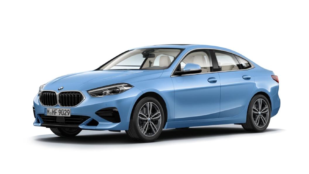 BMW  2 Series Gran Coupe Seaside Blue Metallic Colour