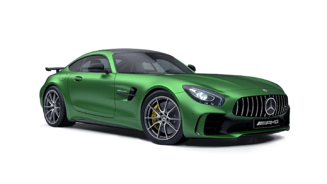 Mercedes Benz  E-Class Amg Green Hell Magno Colour