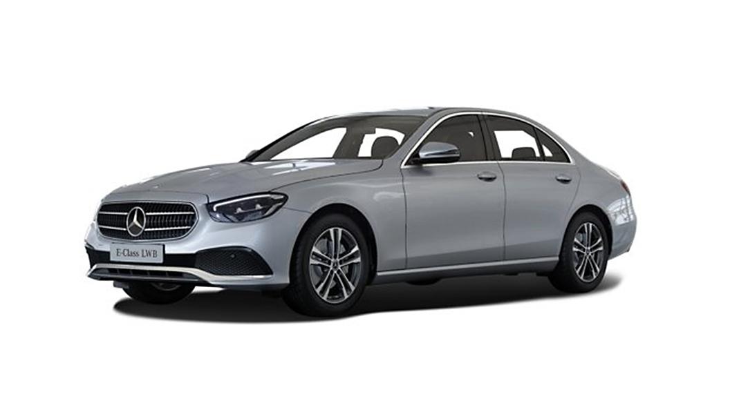 Mercedes Benz  E-Class High Tech Silver Colour