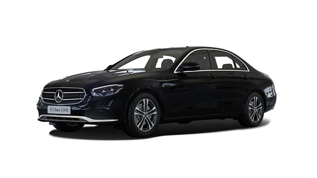 Mercedes Benz  E-Class Obsidian Black Colour