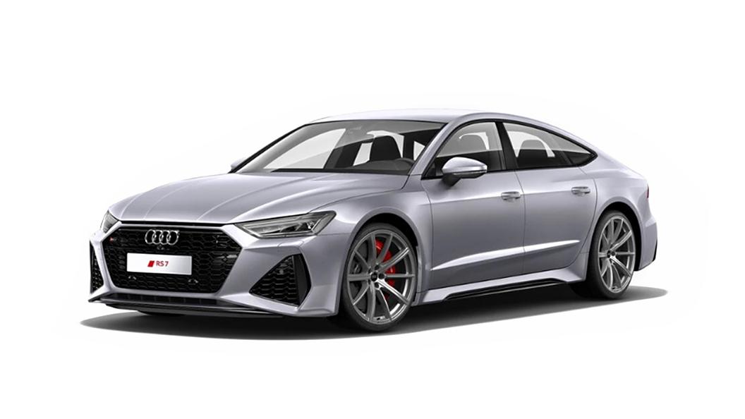 Audi  RS7 Sportback Floret Silver Metallic Colour