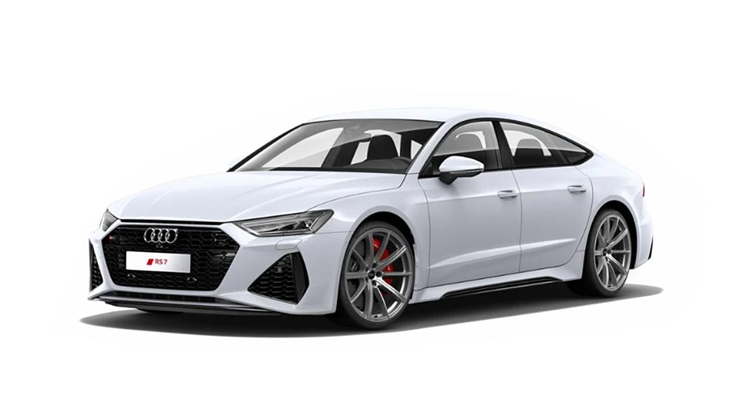 Audi  RS7 Sportback Glacier White Metallic Colour