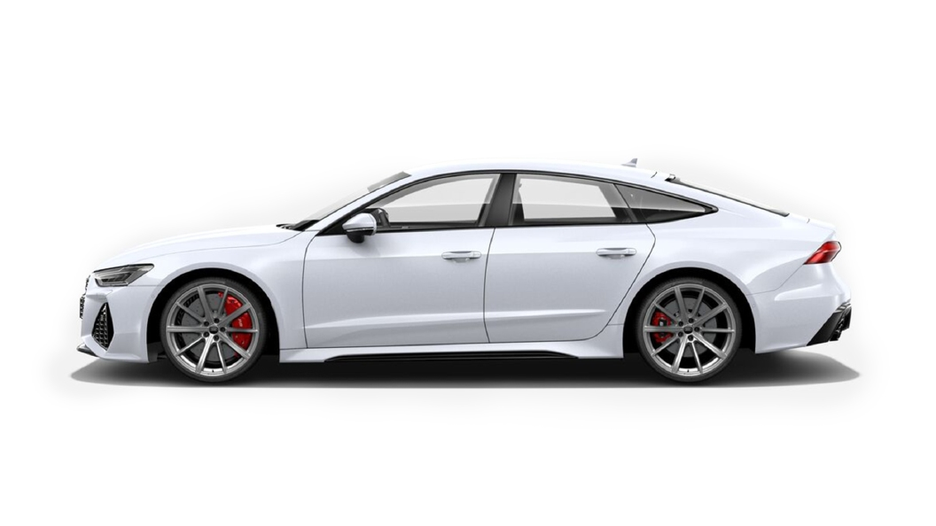 Audi  RS7 Sportback Glacier White Colour