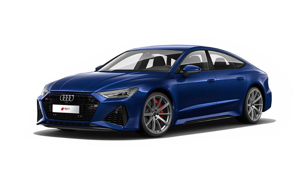 Audi  RS7 Sportback Navarra Blue Metallic Colour