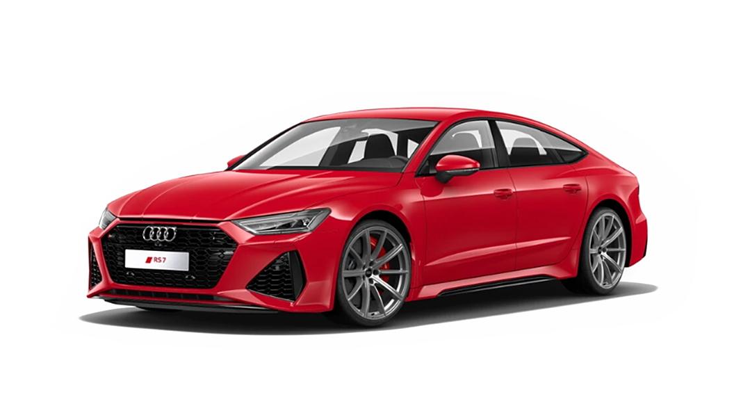 Audi  RS7 Sportback Tango Red Metallic Colour