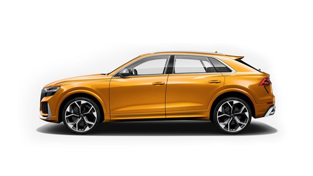 Audi  RS Q8 Dragon Orange Metallic Colour