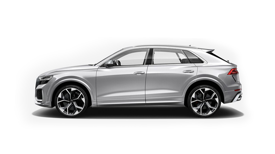 Audi  RS Q8 Floret Silver Metallic Colour