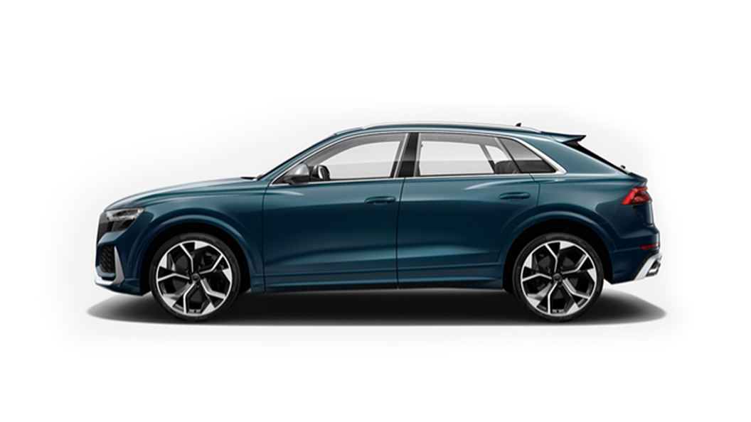 Audi  RS Q8 Galaxy Blue Metallic Colour