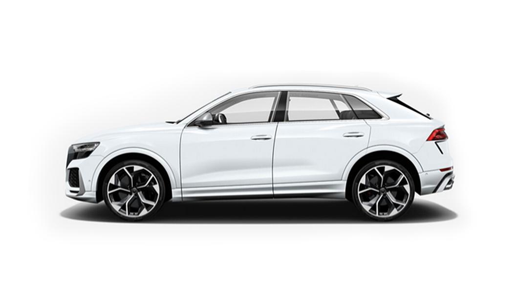 Audi  RS Q8 Glacier White Metallic Colour