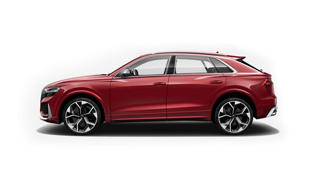 Audi  RS Q8 Matador Red Metallic Colour