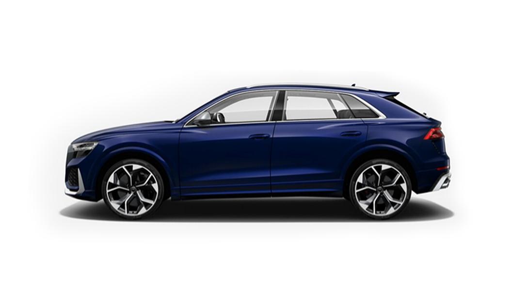 Audi  RS Q8 Navarra Blue Metallic Colour