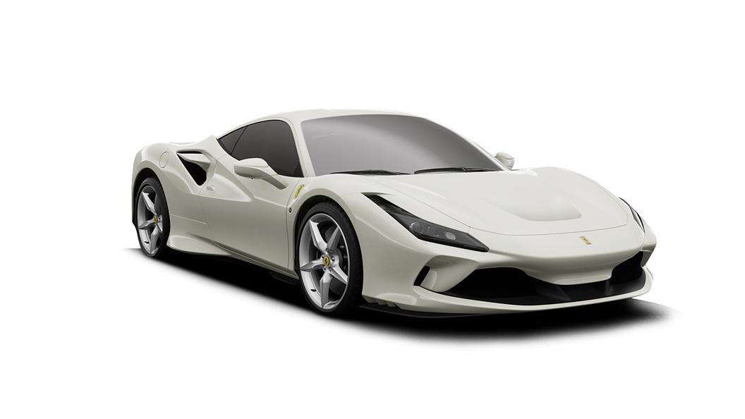Ferrari  F8 Tributo Bianco Avus Colour