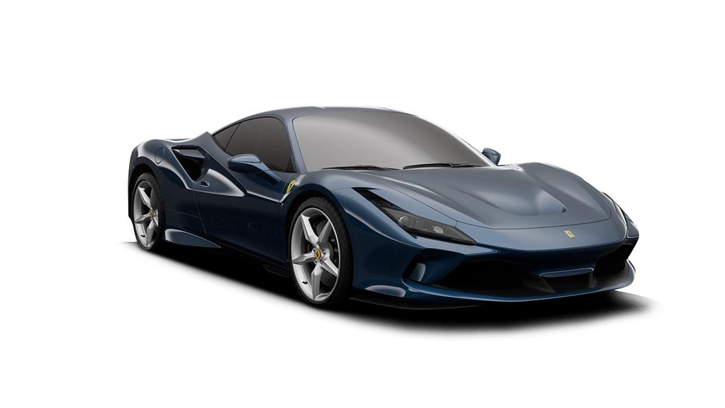 Ferrari  F8 Tributo Blu Abu Dhabi Colour