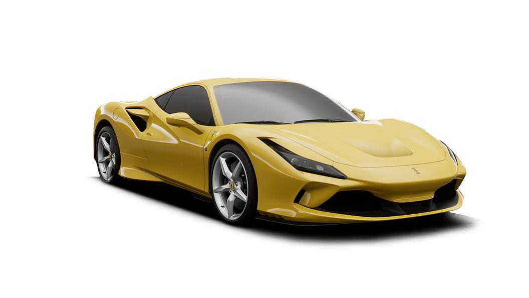 Ferrari  F8 Tributo Giallo Modena Colour