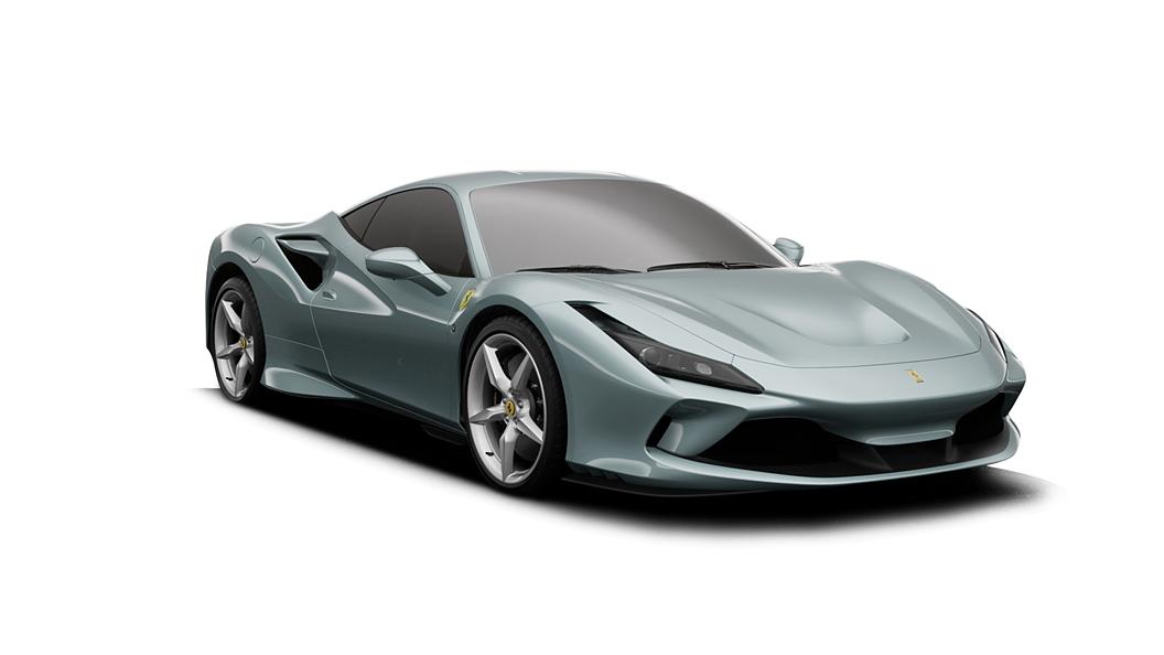 Ferrari  F8 Tributo Grigio Alloy Colour