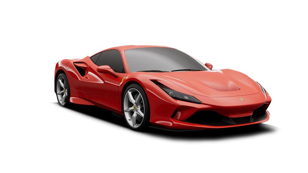Ferrari  F8 Tributo Rosso Scuderia Colour