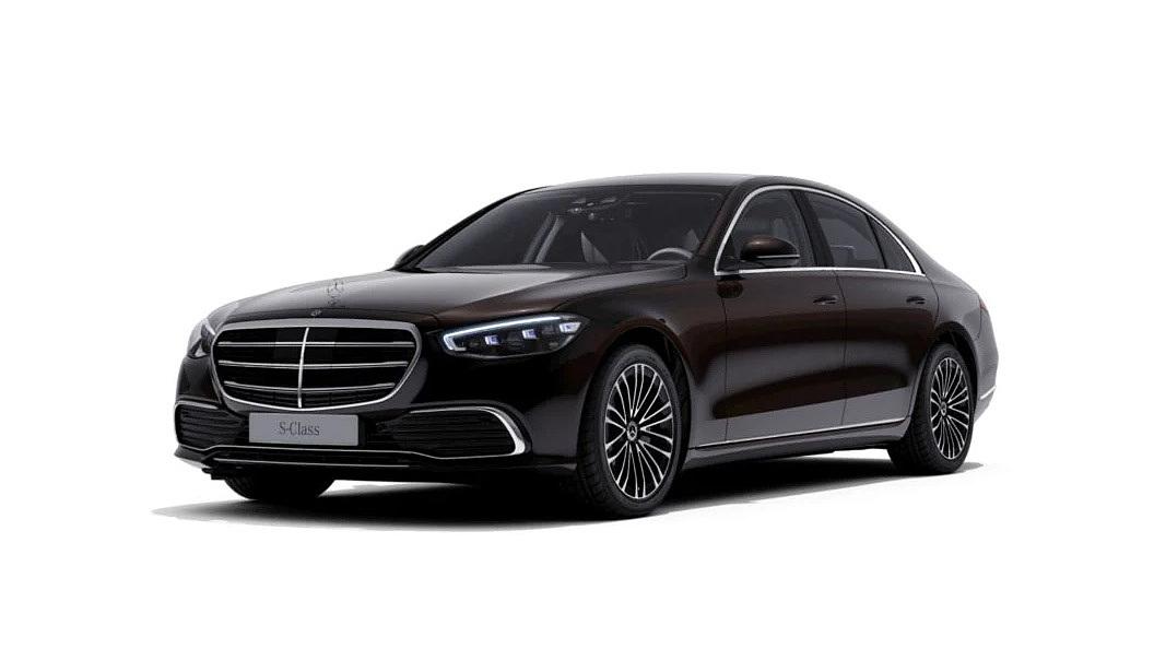 Mercedes Benz  S-Class Onyx Black Colour