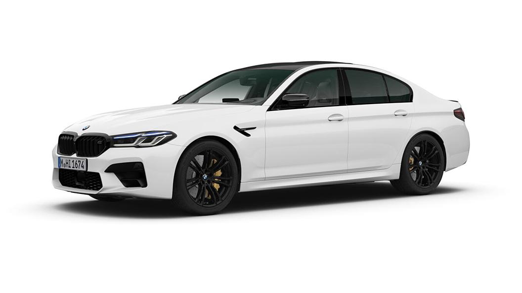 BMW  M5 Alpine White Colour