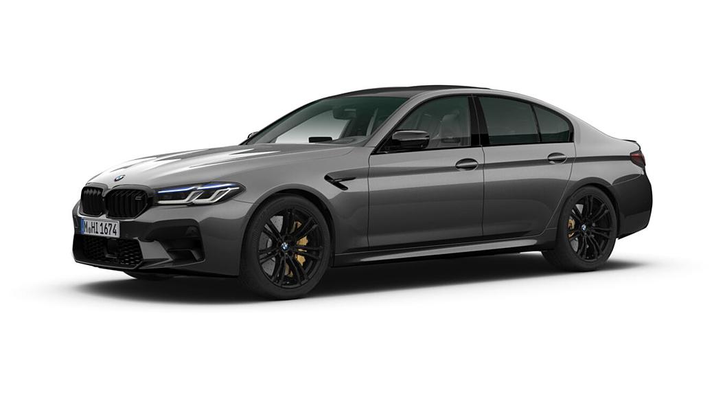 BMW  M5 Brands Hatch Grey Metallic Colour