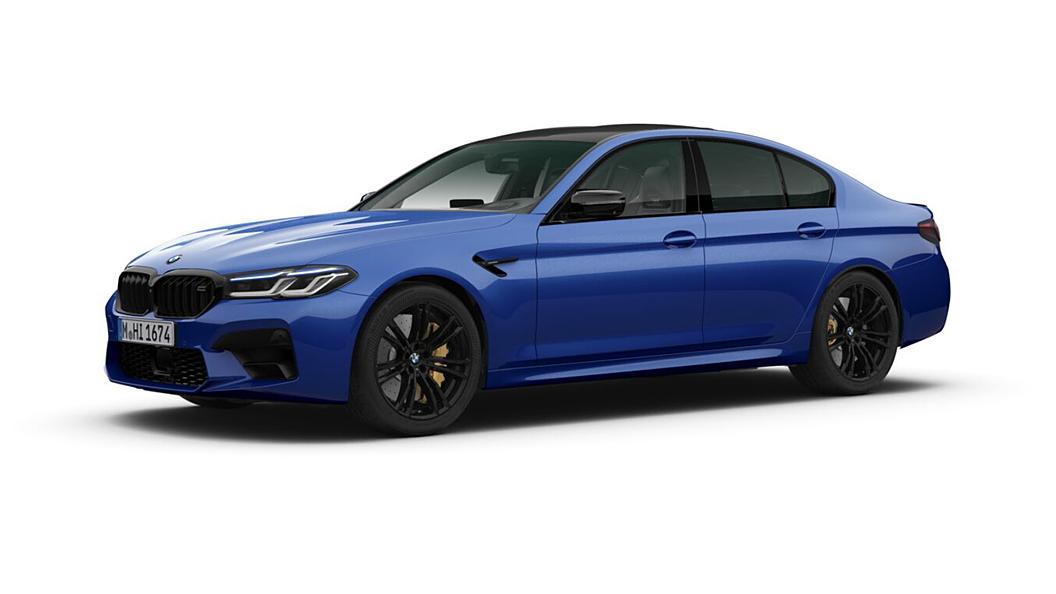 BMW  M5 Marina Bay Blue Metallic Colour