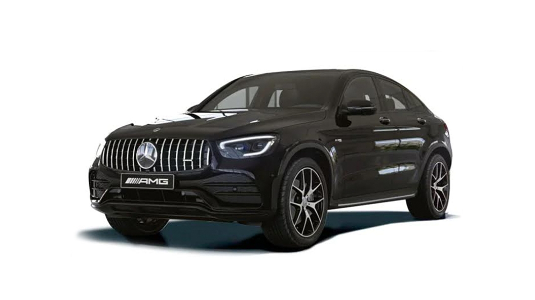 Mercedes Benz  AMG GLC43 Coupe Obsidian Black Colour