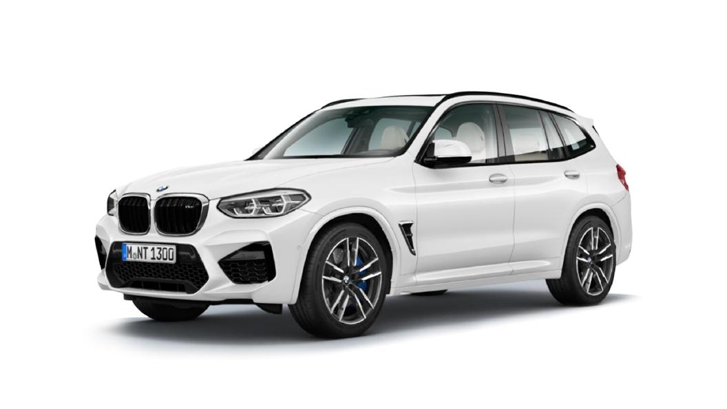 BMW  X3 M Alpine White Colour