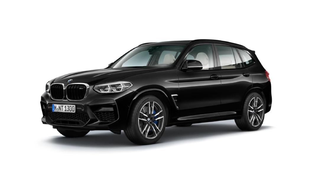 BMW  X3 M Black Sapphire Metallic Colour