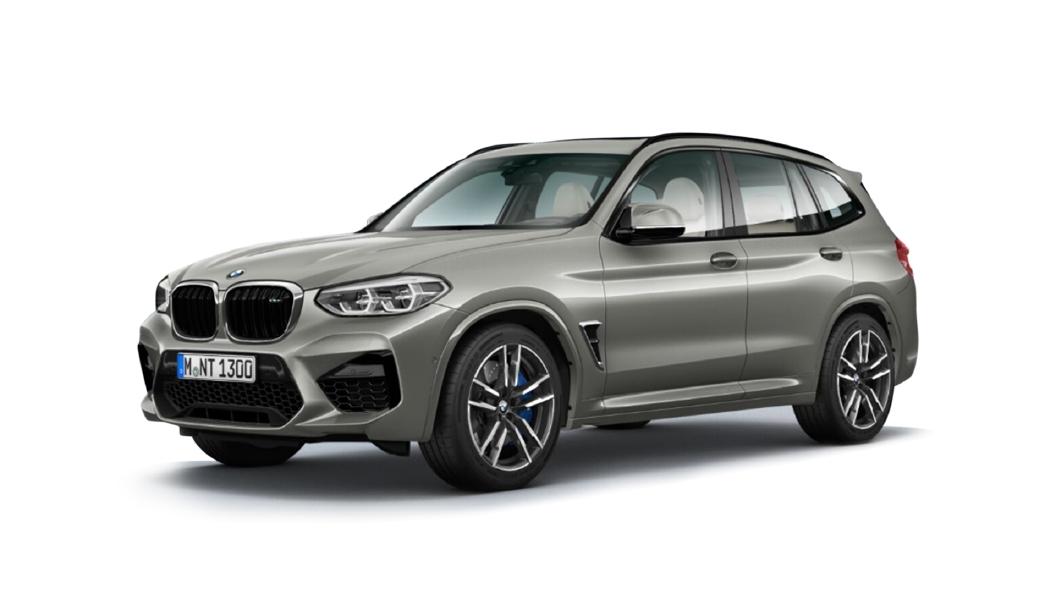 BMW  X3 M Donongton Grey Metallic Colour