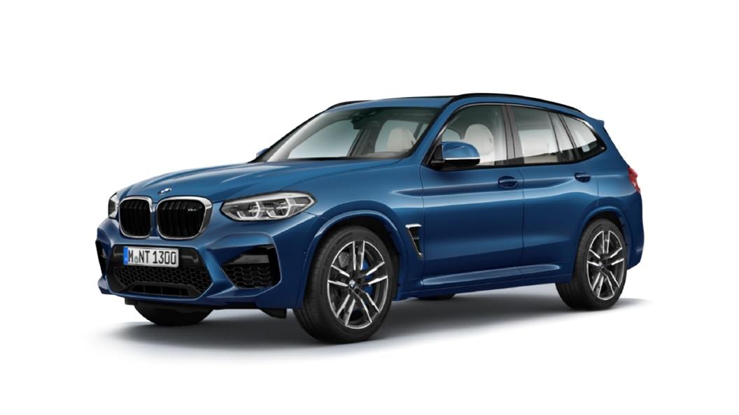 BMW  X3 M Phytonic Blue Metallic Colour