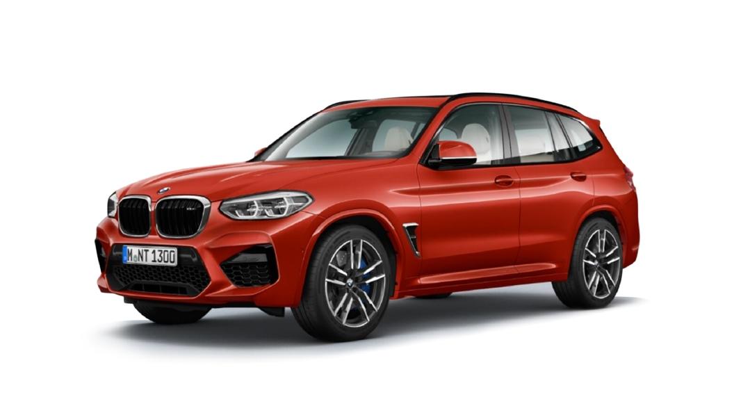 BMW  X3 M Toronto Red Metallic Colour