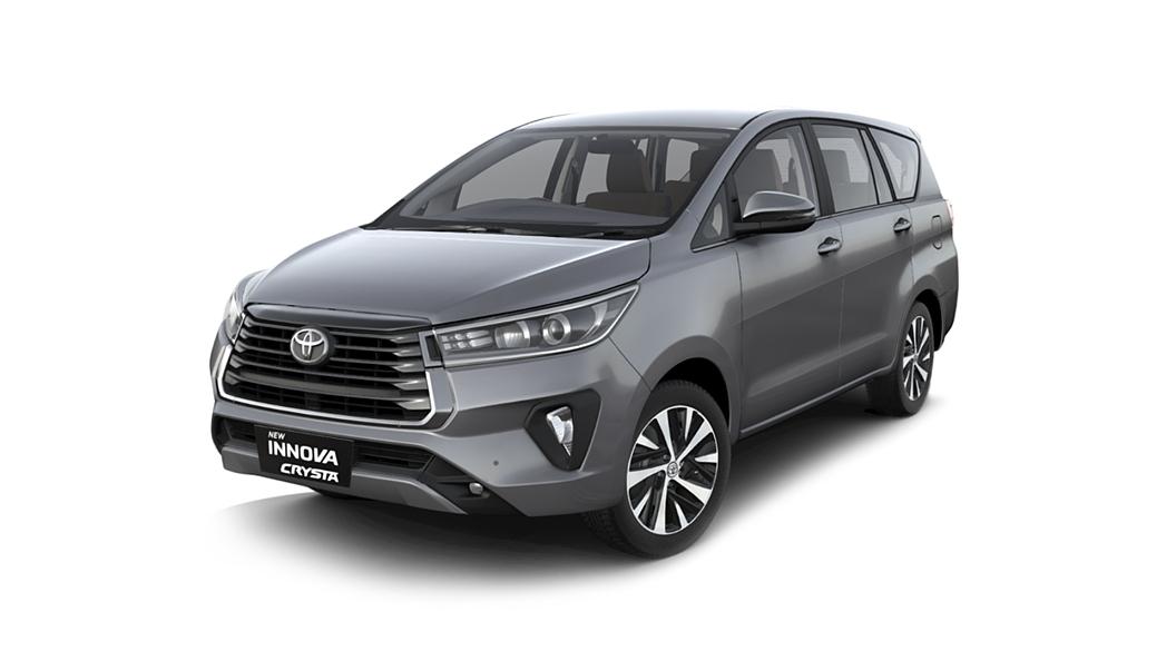 Toyota  Innova Crysta Silver Colour