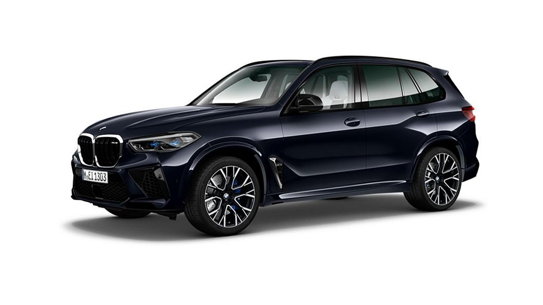 BMW  X5 M Carbon Black Metallic Colour