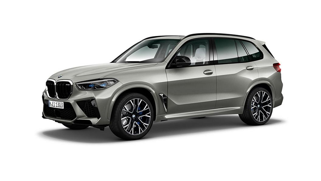BMW  X5 M Donington Grey Metallic Colour