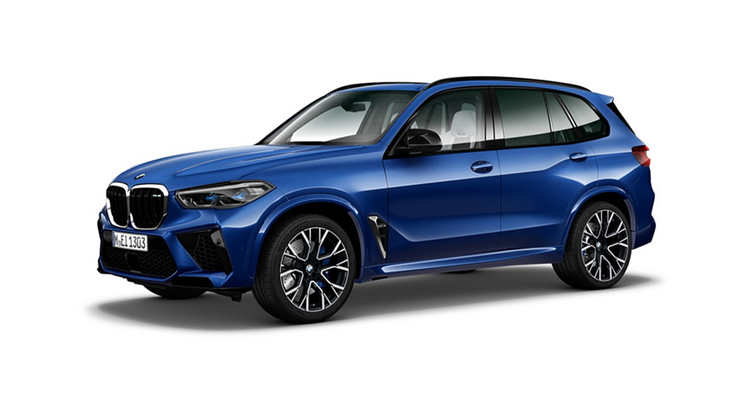 BMW  X5 M Marina Bay Blue Metallic Colour