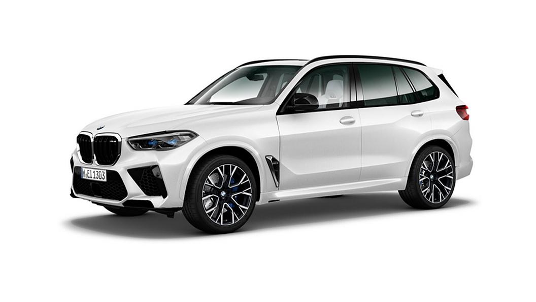 BMW  X5 M Mineral White Metallic Colour