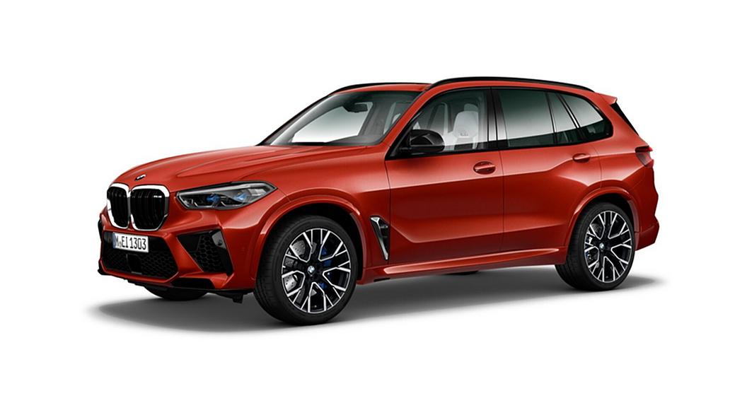 BMW  X5 M Toronto Red Metallic Colour
