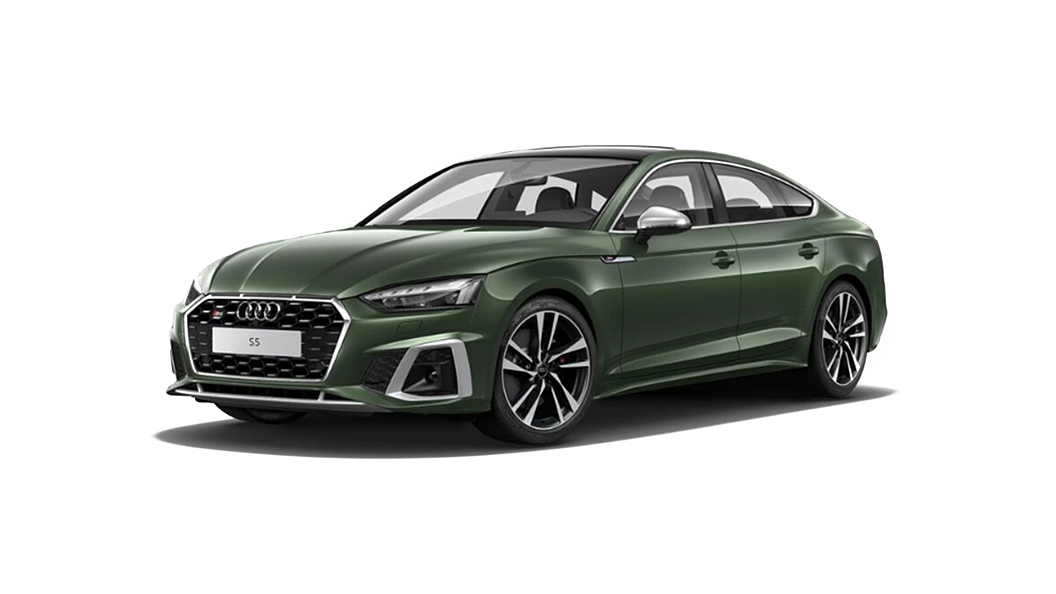 Audi  S5 Sportback District Green Metallic Colour