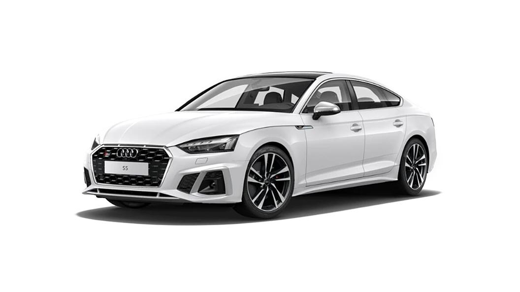 Audi  S5 Sportback Ibis White Solid Colour