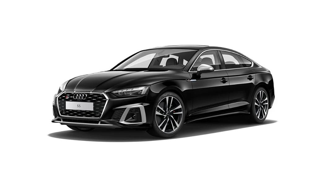 Audi  S5 Sportback Mythos Black Metallic Colour