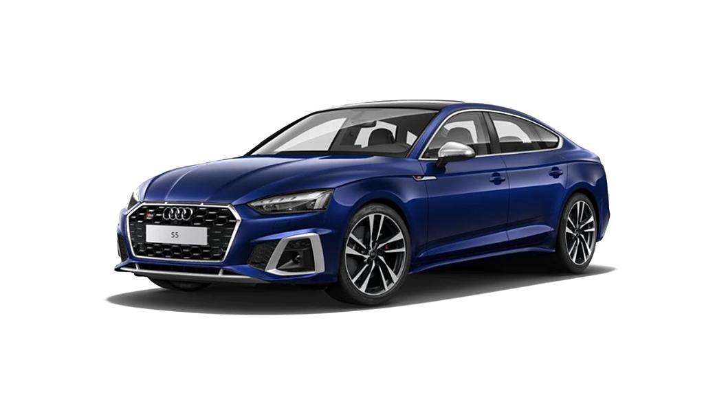 Audi  S5 Sportback Navara Blue Metallic Colour