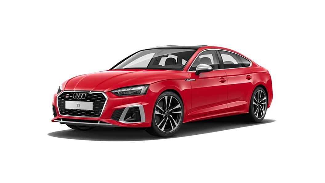 Audi  S5 Sportback Tango Red Metallic Colour
