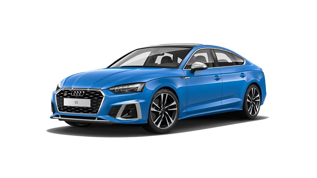 Audi  S5 Sportback Turbo Blue Solid Colour