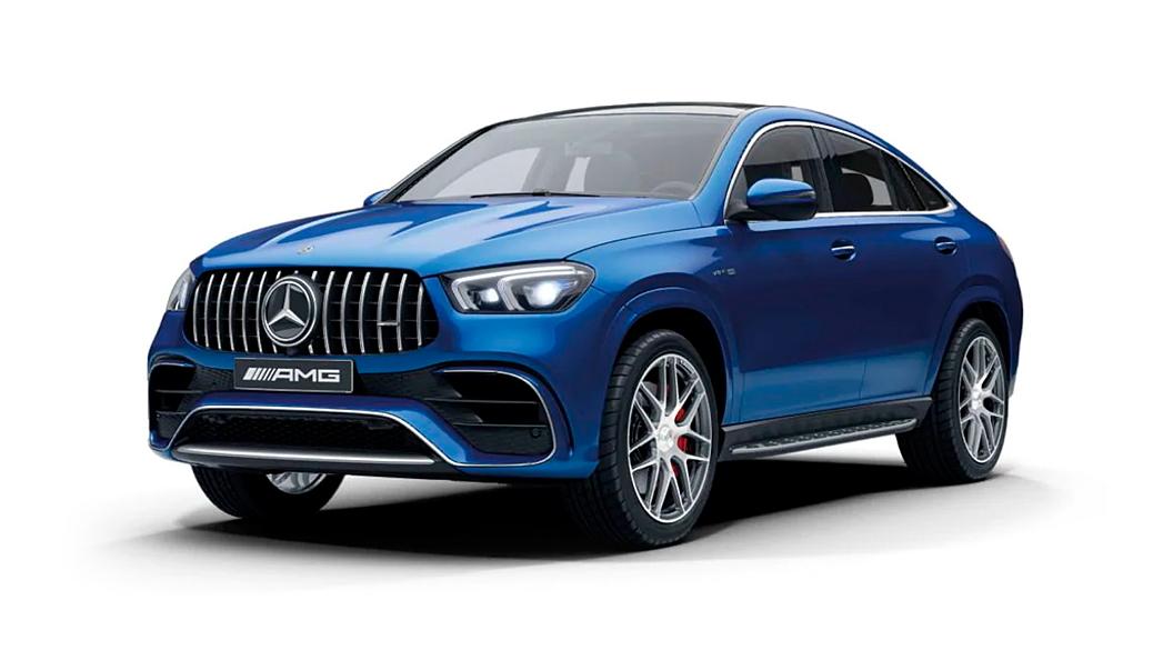Mercedes Benz  AMG GLE Coupe Brilliant Blue Colour