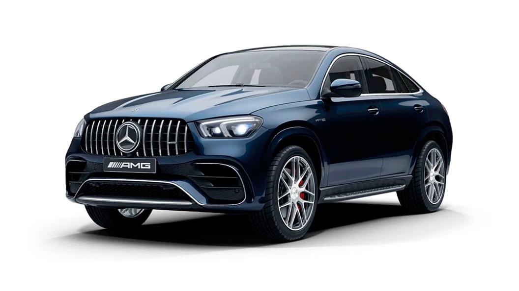 Mercedes Benz  AMG GLE Coupe Cavansite Blue Colour