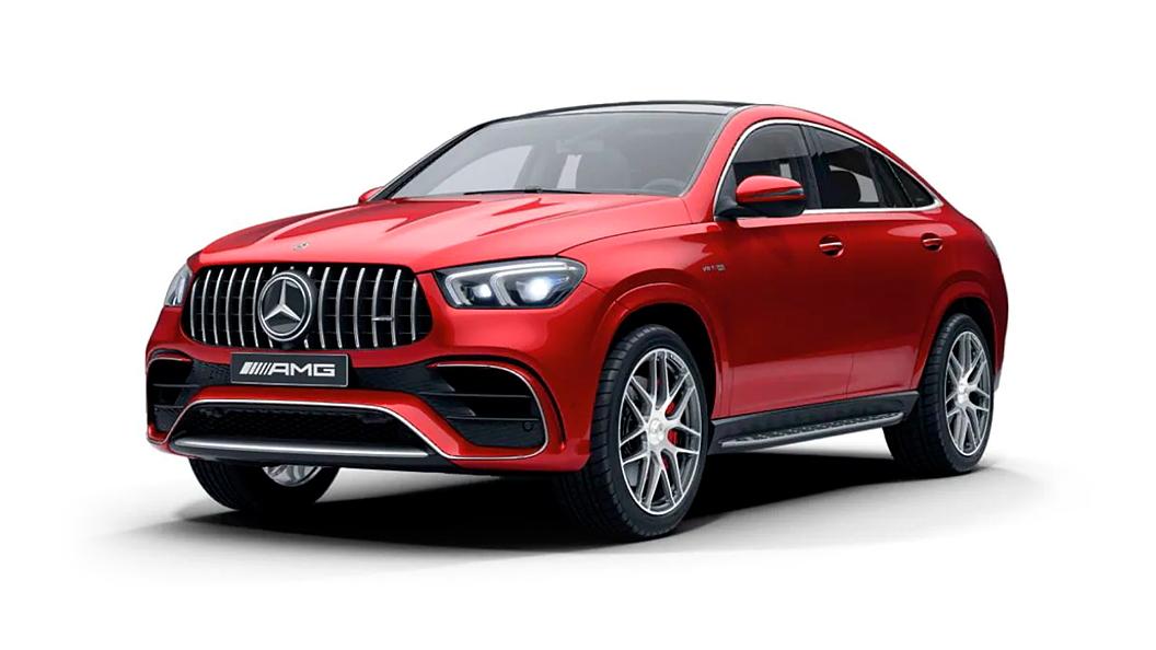 Mercedes Benz  AMG GLE Coupe Designo Hyacinth Red Metallic Colour