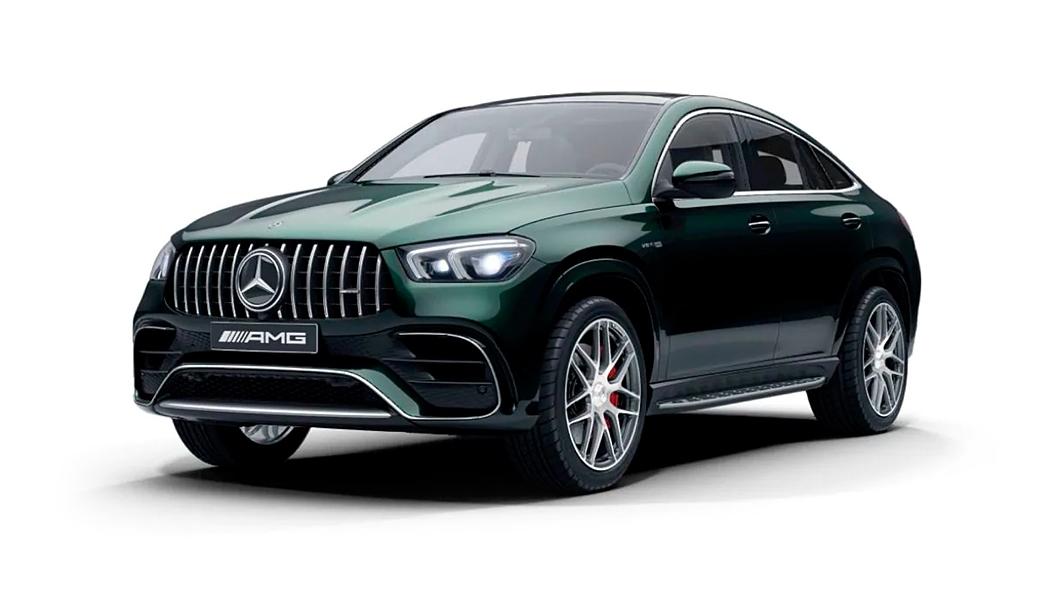 Mercedes Benz  AMG GLE Coupe Emerald Green Colour