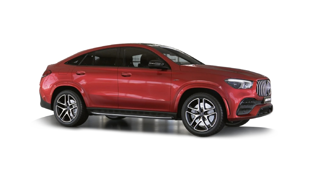 Mercedes Benz  AMG GLE Coupe Hyacinth Red Colour