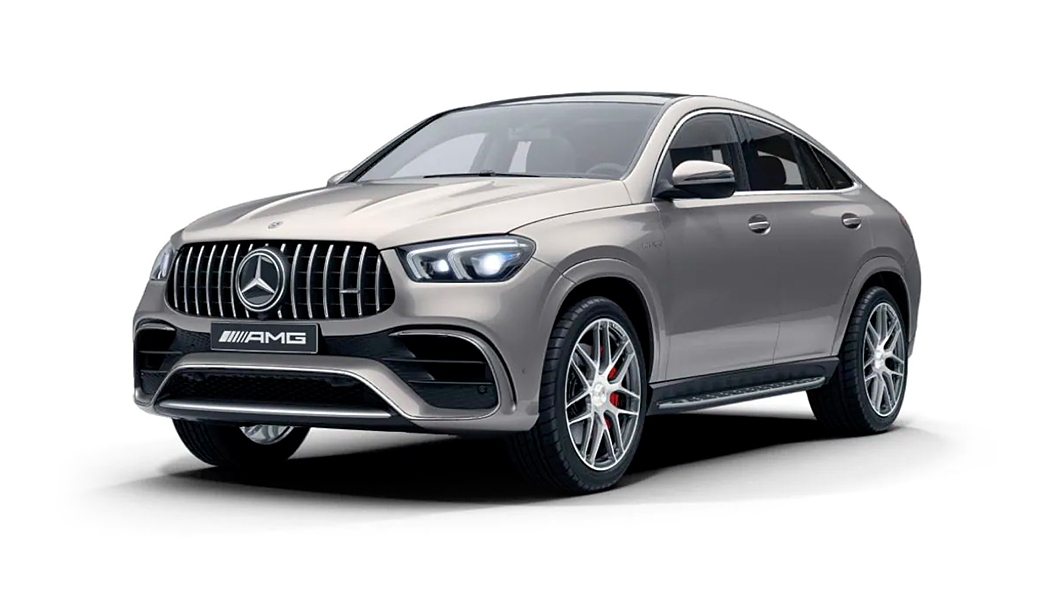 Mercedes Benz  AMG GLE Coupe Mojave Silver Colour